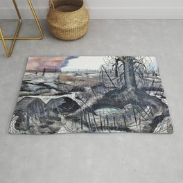 Paul Nash - Wire - Digital Remastered Edition Rug