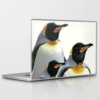 penguins Laptop & iPad Skins featuring Penguins by Regan's World