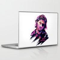 kurt rahn Laptop & iPad Skins featuring KURT RUSSELL BAD ACTORS by mergedvisible