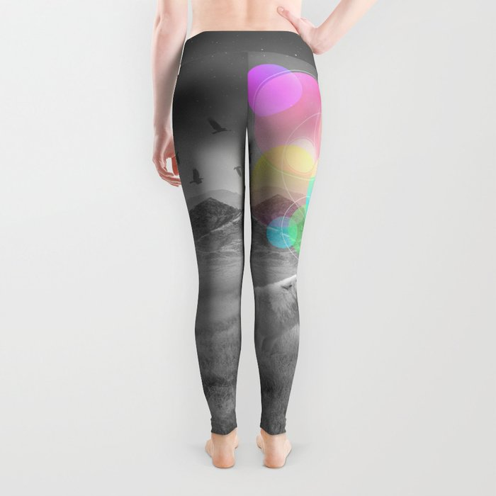 The Echoes of Silence Leggings