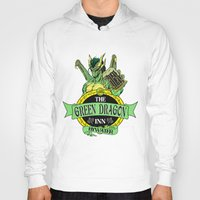 lotr Hoodies featuring LOTR - The Green Dragon Inn - Bywater by Immortalized