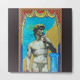 Michelangelo at Home Metal Print