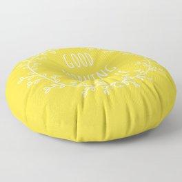 Good Morning Sunshine Floor Pillow