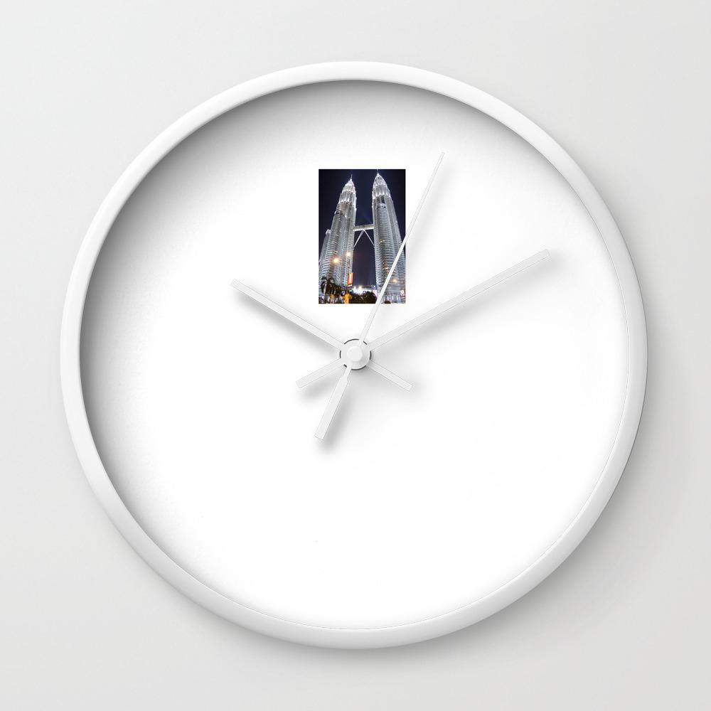 Malaysia Petronas Twin Towers Wall Clock
