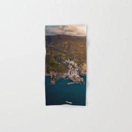 Italian Coastal Village Hand & Bath Towel