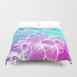 Tropical Cold Front Duvet Cover