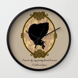 A Captain's Promise Wall Clock