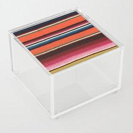 BEAUTIFUL MEXICAN SERAPE Acrylic Box