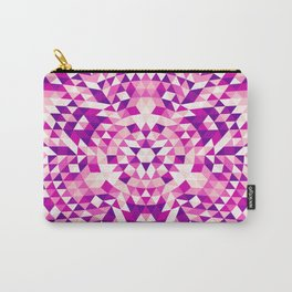 Pink Shards Carry-All Pouch