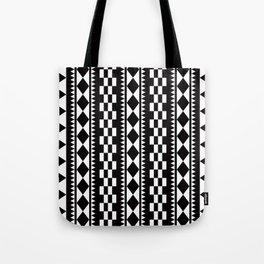 Geometric Pattern #177 (edie sedgwick) Tote Bag