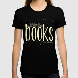 Late Night Reading - V2 T-shirt