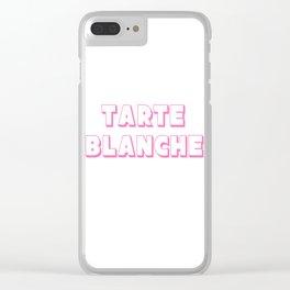Tarte Blanche Clear iPhone Case
