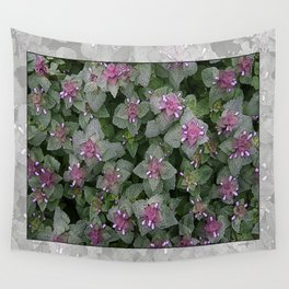 WILD SALVIA MAUVE AND GRAY GREEN Wall Tapestry