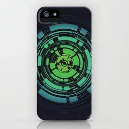 Circles II iPhone Case