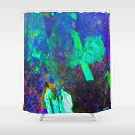 AUS Opal Shower Curtain