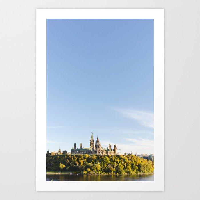 Parliament Hill  Art Print