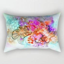 organic blooms Rectangular Pillow