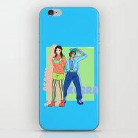 korrasami iPhone & iPod Skins featuring Korrasami Modern AU by Ninja Klee