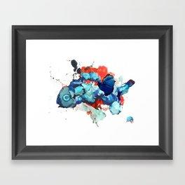 Fin Framed Art Print