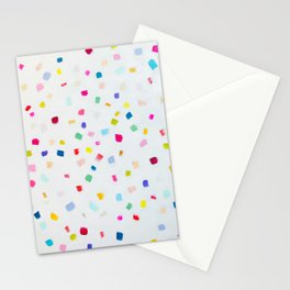 Party confetti painting Stationery Cards