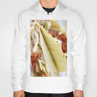 taco Hoodies featuring Taco  by Spotted Heart
