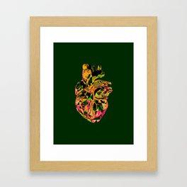Heart Print #4 Framed Art Print