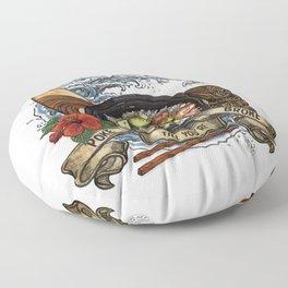 Everyone Gets Lei'd Floor Pillow