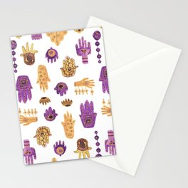 Hamsa Hamsa Hamsa Stationery Cards