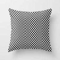 herringbone Throw Pillows featuring Herringbone. by ∞ ♡ ☮