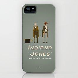 Pixel Art Indiana Jones iPhone Case