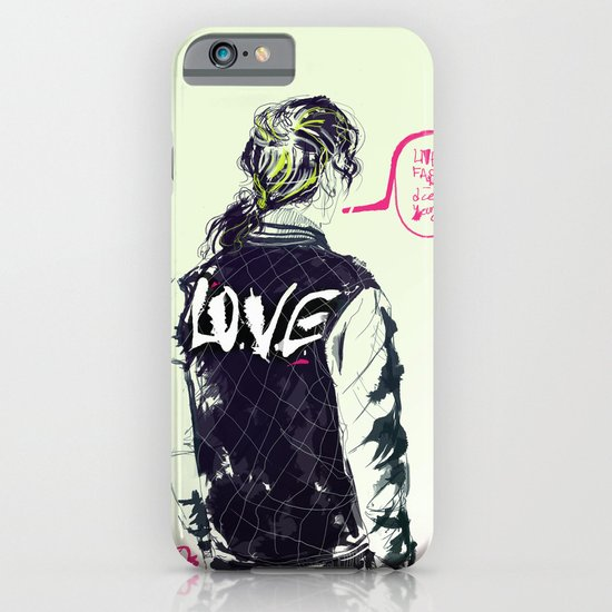 live fast die young iPhone & iPod Case