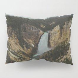 Yellowstone National Park Falls Pillow Sham
