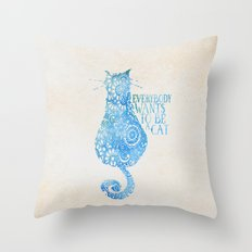 O'Malley's Mantra  Throw Pillow
