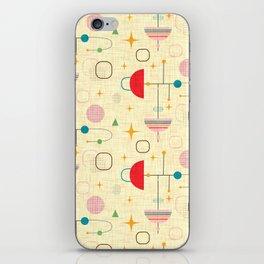 Atomic pattern umbrellas   #midcenturymodern iPhone Skin
