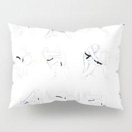 Judo Throw Pattern Pillow Sham