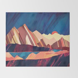 Desert Valley Throw Blanket