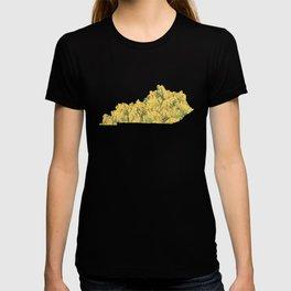 Kentucky in Flowers T-shirt