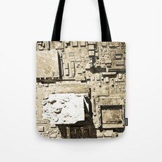 City Ruins Tote Bag