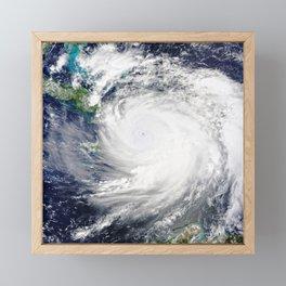 Gulf Coast Hurricane Framed Mini Art Print