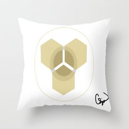 Space Emblem Throw Pillow