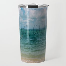 Run Away to the Ocean Travel Mug