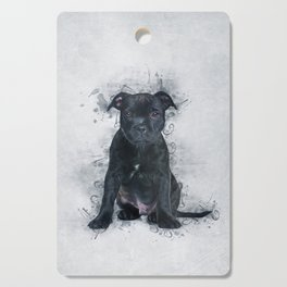 Staffordshire Bull Terrier Cutting Board