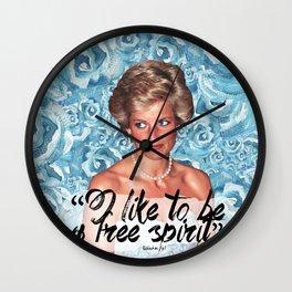 Princess Diana Wall Clock