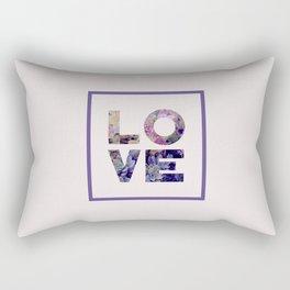 Succulent Uv LOVE #society6 #love #ultraviolet Rectangular Pillow