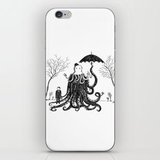 Young Master Lovecraft Finds A Friend iPhone & iPod Skin