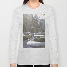 Montreal's Plateau Mont-Royal, one summer afternoon Long Sleeve T-shirt
