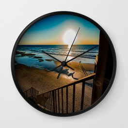 Dream Shadows Wall Clock