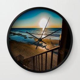 Dream Shadows Wall Clock