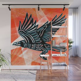 The Crow Wall Mural