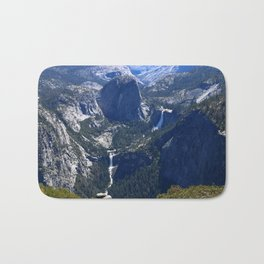 Vernal Falls And Nevada Falls Bath Mat